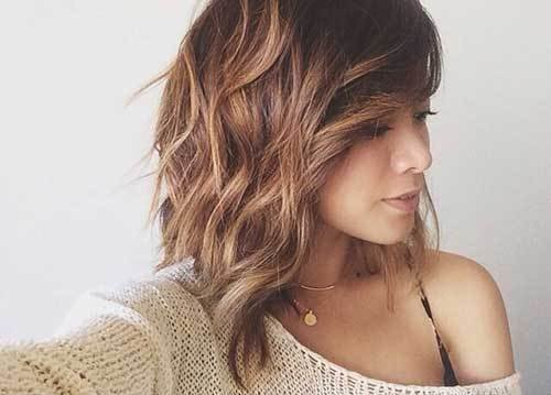 The Best 15 Nice Layered Wavy Bob Short Hairstyles 2018 2019 Pictures