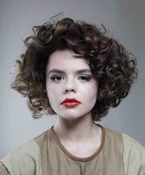 The Best 10 Best Short Thick Curly Hairstyles Short Hairstyles Pictures
