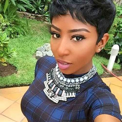 The Best 15 Black Girls With Short Hair Short Hairstyles 2018 Pictures