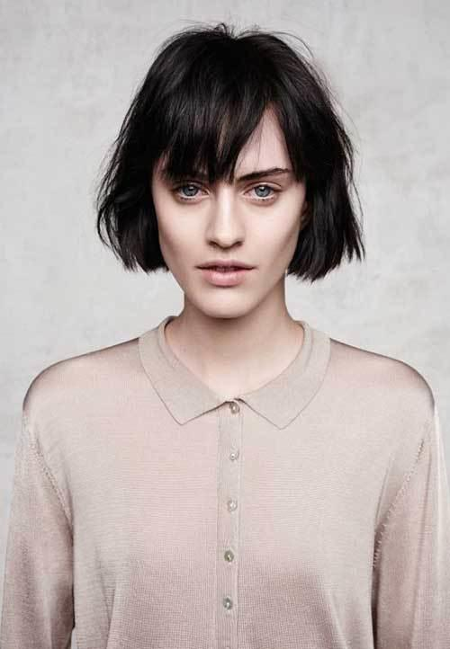 The Best 30 Super Short Haircuts With Bangs Short Hairstyles Pictures
