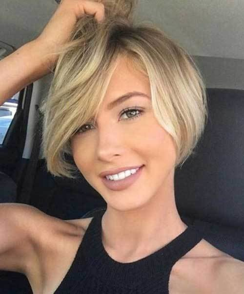 The Best Short Haircuts For Round Face Shape Short Hairstyles Pictures