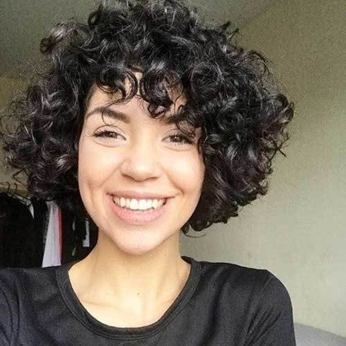 The Best 20 Latest Short Curly Hairstyles For 2018 Short Hairstyles 2018 2019 Most Popular Short Pictures