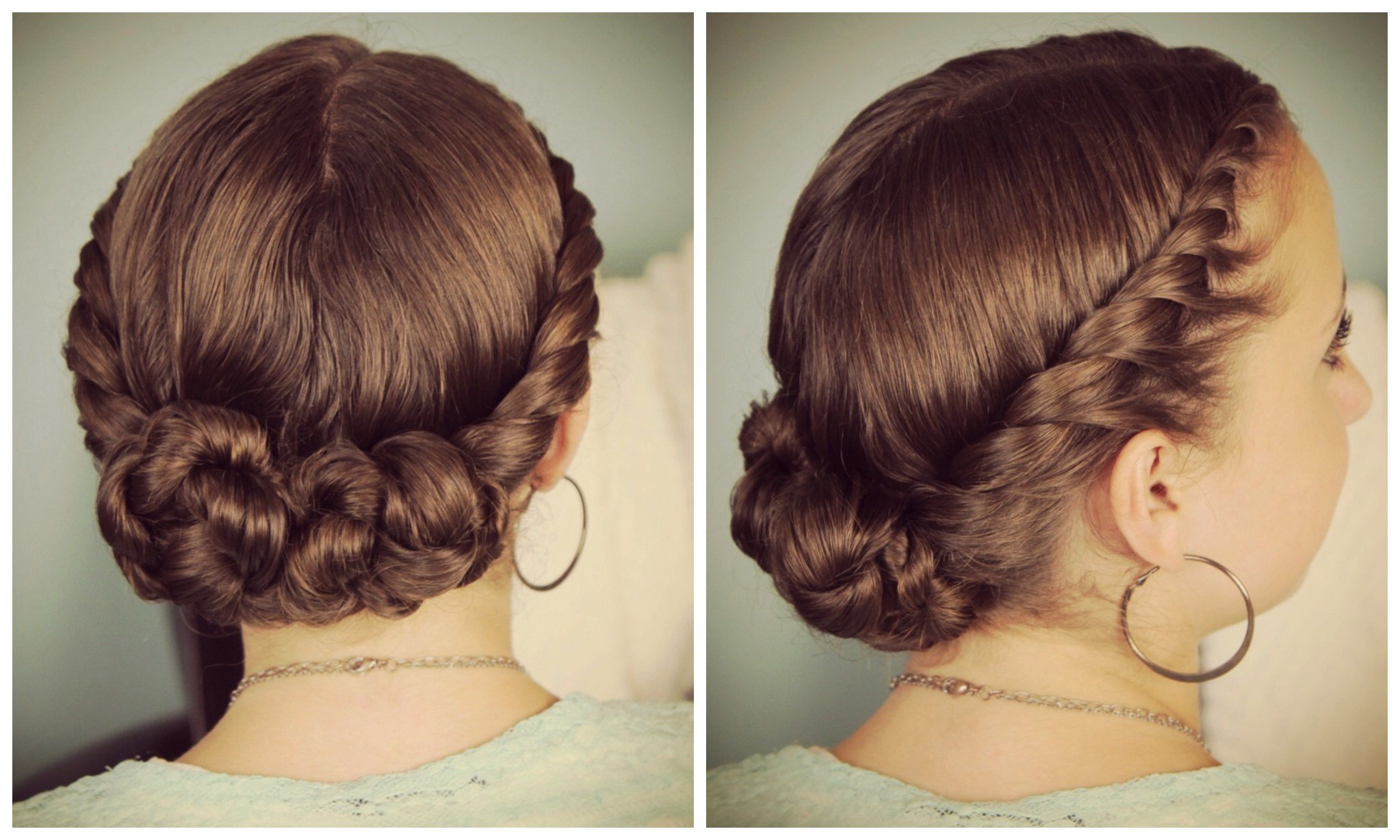The Best Double Twist Bun Updo Homecoming Hairstyles Cute Girls Pictures