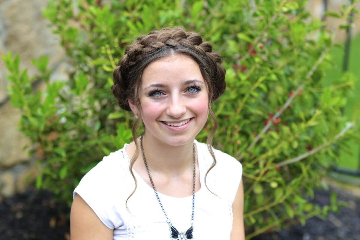 The Best Milkmaid Braid Cute Summer Hairstyles Cute Girls Pictures