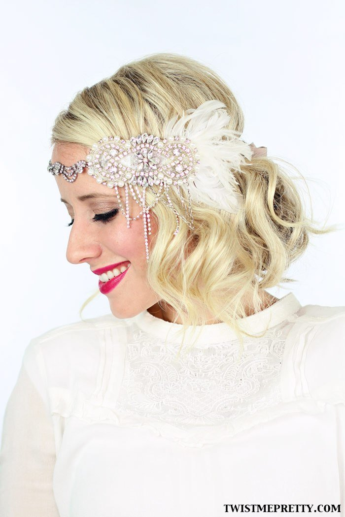 The Best 2 Gorgeous Gatsby Hairstyles For Halloween Or A Wedding Pictures