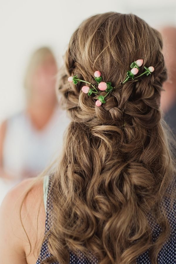 The Best Gorgeous Half Up Half Down Wedding Hairstyle Pictures