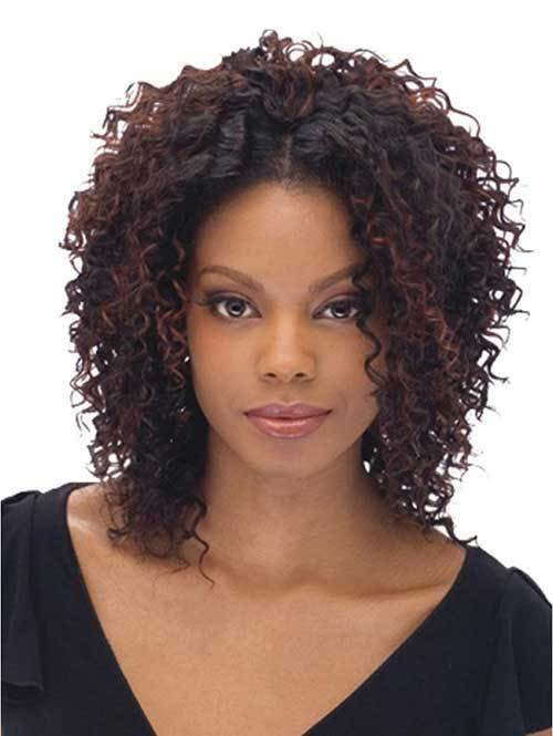 The Best 20 Short Curly Weave Hairstyles Short Hairstyles Haircuts 2018 2019 Pictures