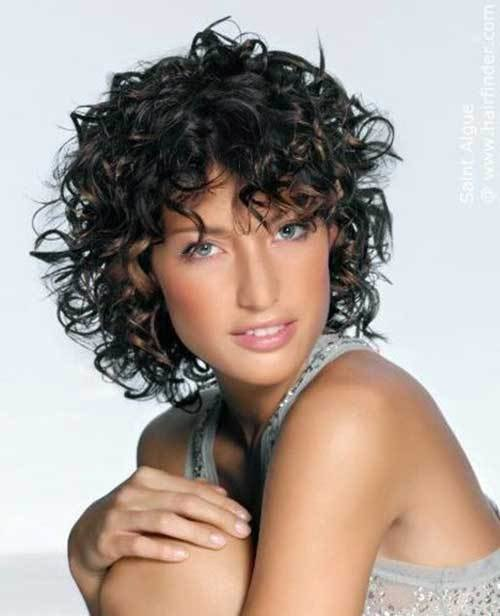 The Best 20 Short Curly Hairstyles With Bangs Short Hairstyles Pictures