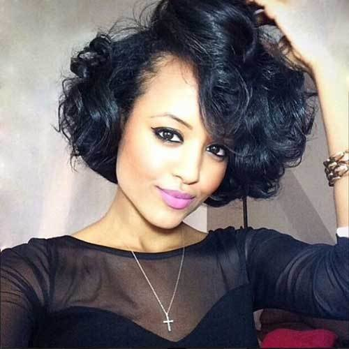 The Best 20 Short Curly Weave Hairstyles Short Hairstyles Pictures