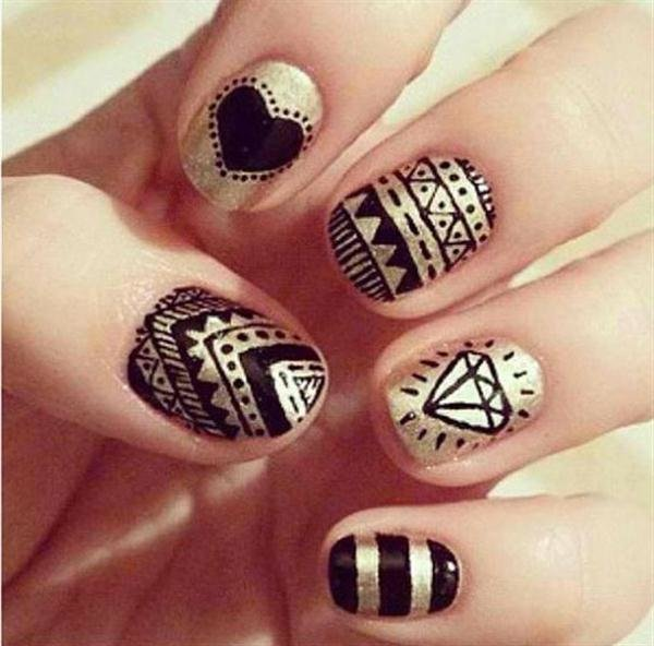 The Best Easy Nail Art Designs For Beginners Fashion Belief Pictures
