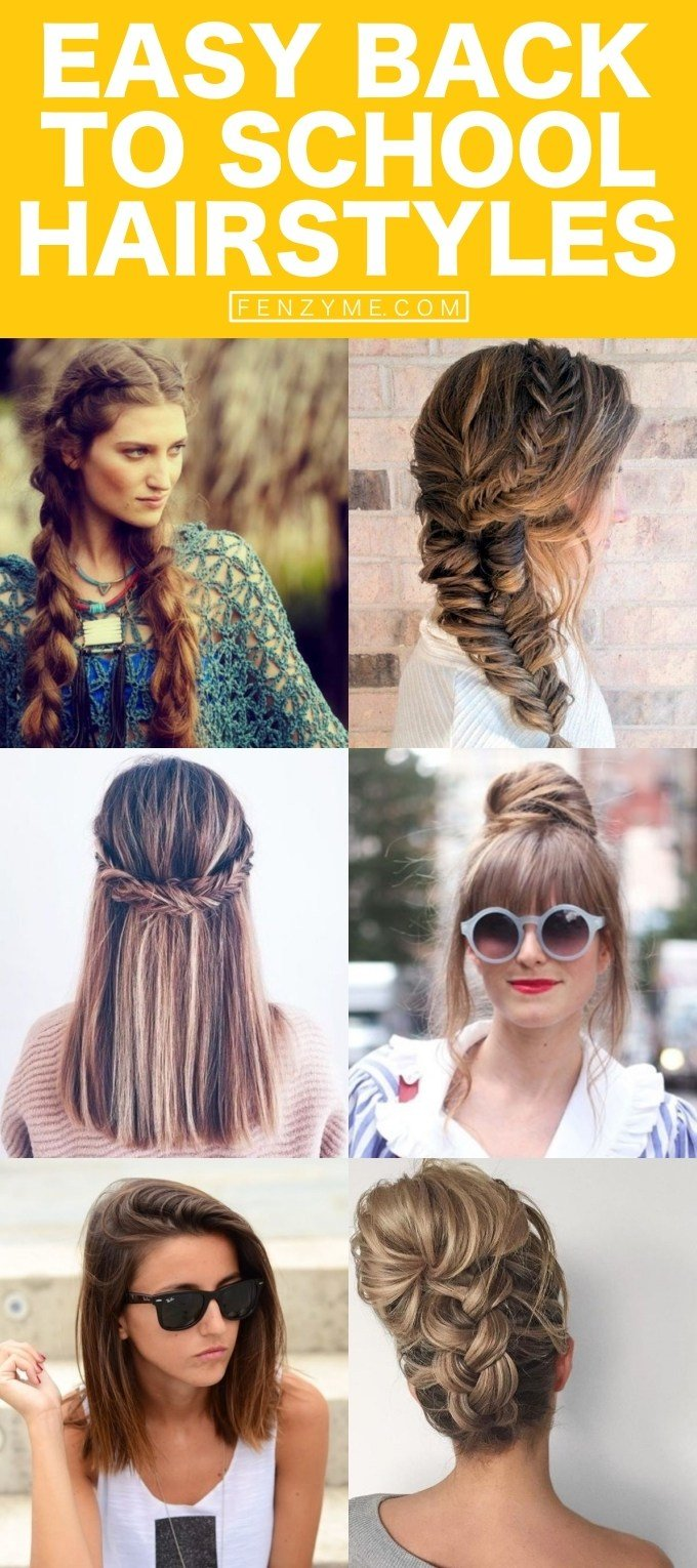 The Best 65 Quick And Easy Back To School Hairstyles For 2017 Pictures