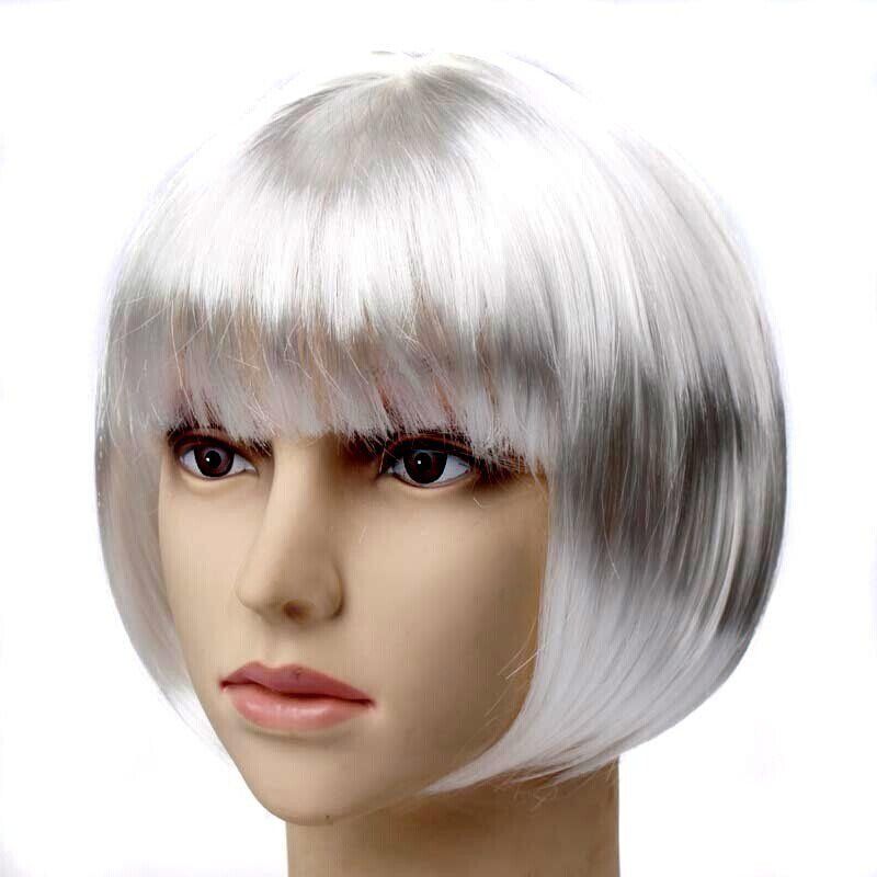 The Best Halloween Party Women S Short Hair Straight Bob Wig 12 Colors Ebay Pictures