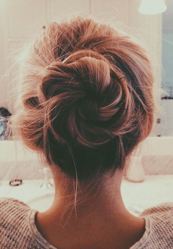 The Best 103 Messy Bun Hairstyles Pictures