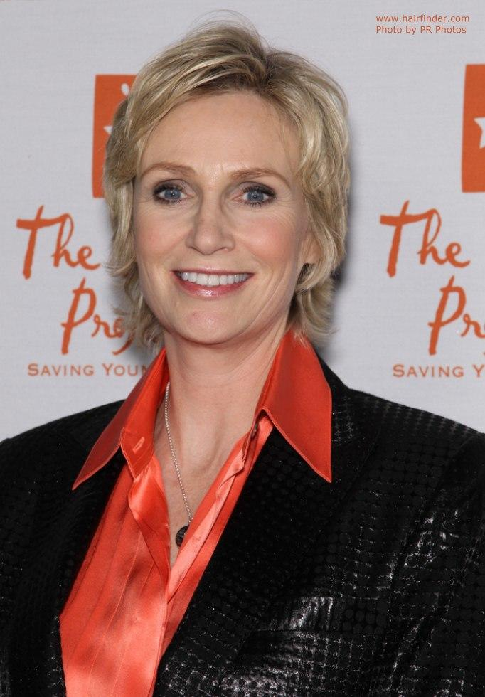 The Best Jane Lynch Easy To Wear Short Hairstyle For Someone Who Pictures