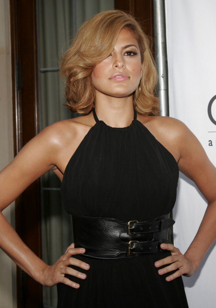The Best Eva Mendes Haircut And How To Describe It To Your Hairdresser Pictures