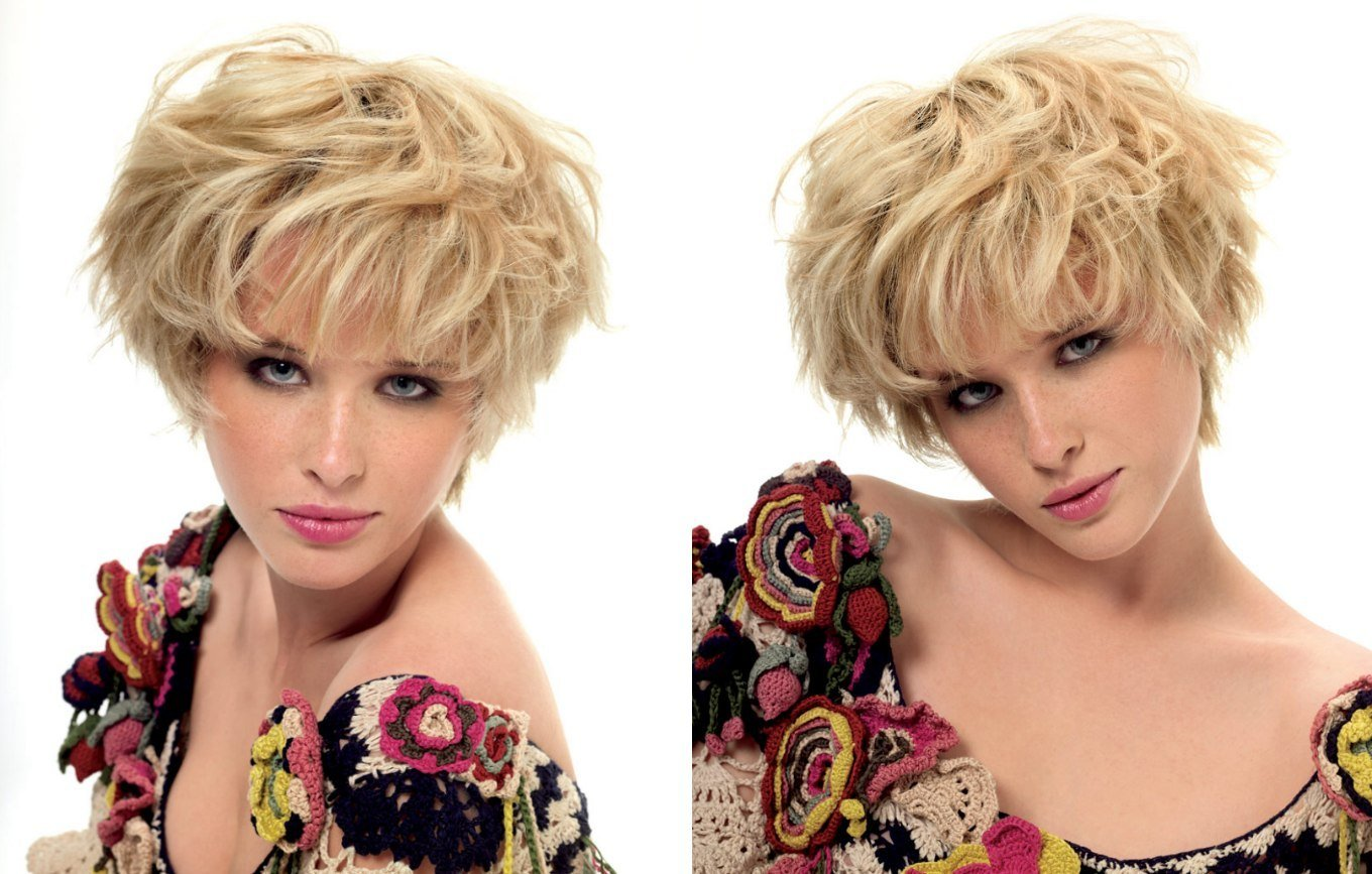 The Best Short Blonde Mop Top Hairstyle For A Narrow Face Pictures