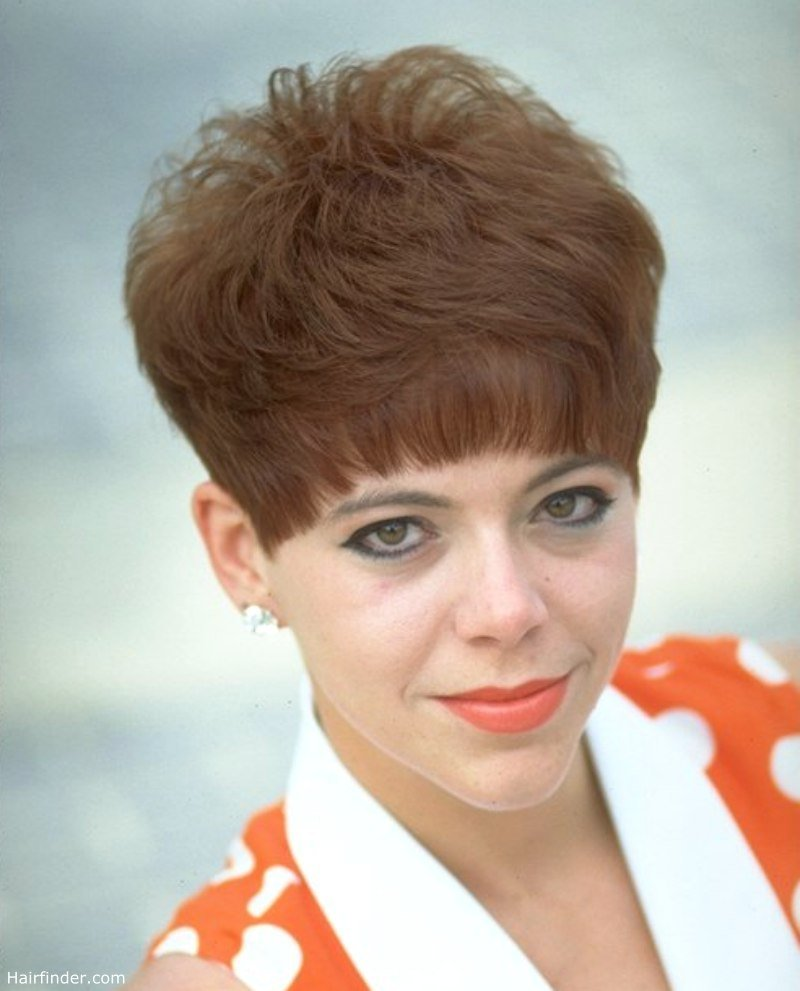 The Best Nostalgic Short Clipped Hairstyle Inspired By The 60S And 70S Pictures