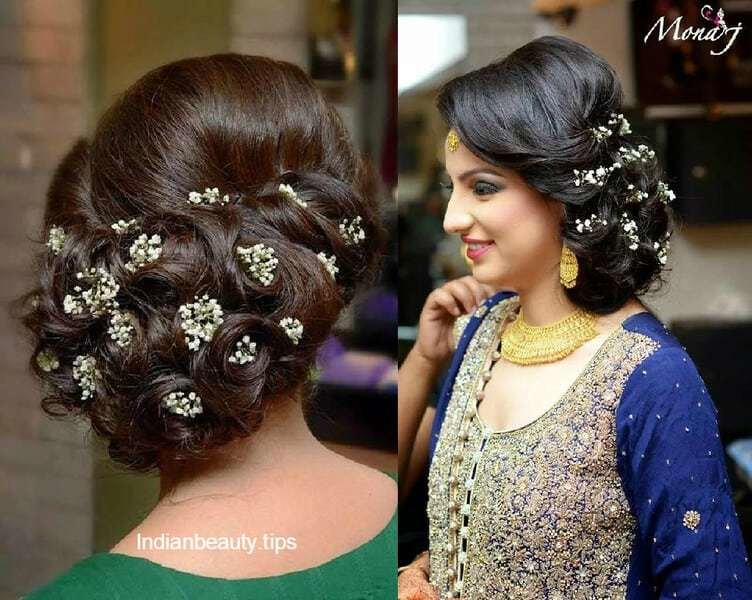 The Best 30 Elegant Bridal Updo Hairstyles Indian Beauty Tips Pictures