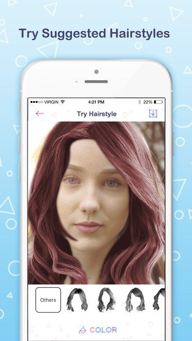 The Best App Shopper Find My Face Shape Try Suggested Hairstyles Pictures