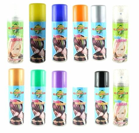 The Best Color Hair Spray Walmart Goodmark Temporary Hair Color Pictures