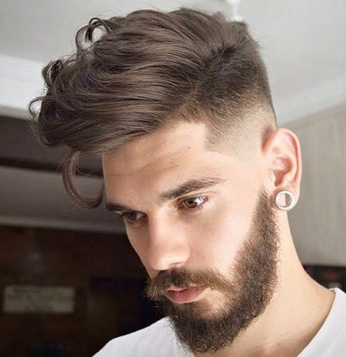 The Best 40 Top Taper Fade Haircut For Men High Low And Temple Pictures