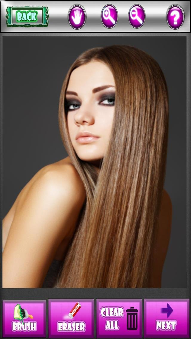 The Best App Shopper Hair Salon Color Tester Test It Before You Pictures