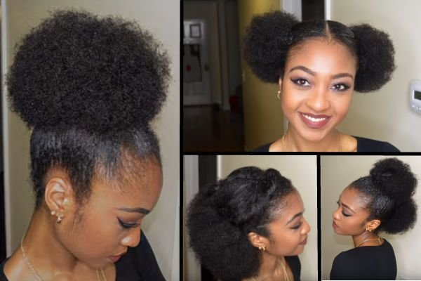 The Best Easy Natural Hairstyles Simple Black Hairstyles For African American Women Pictures