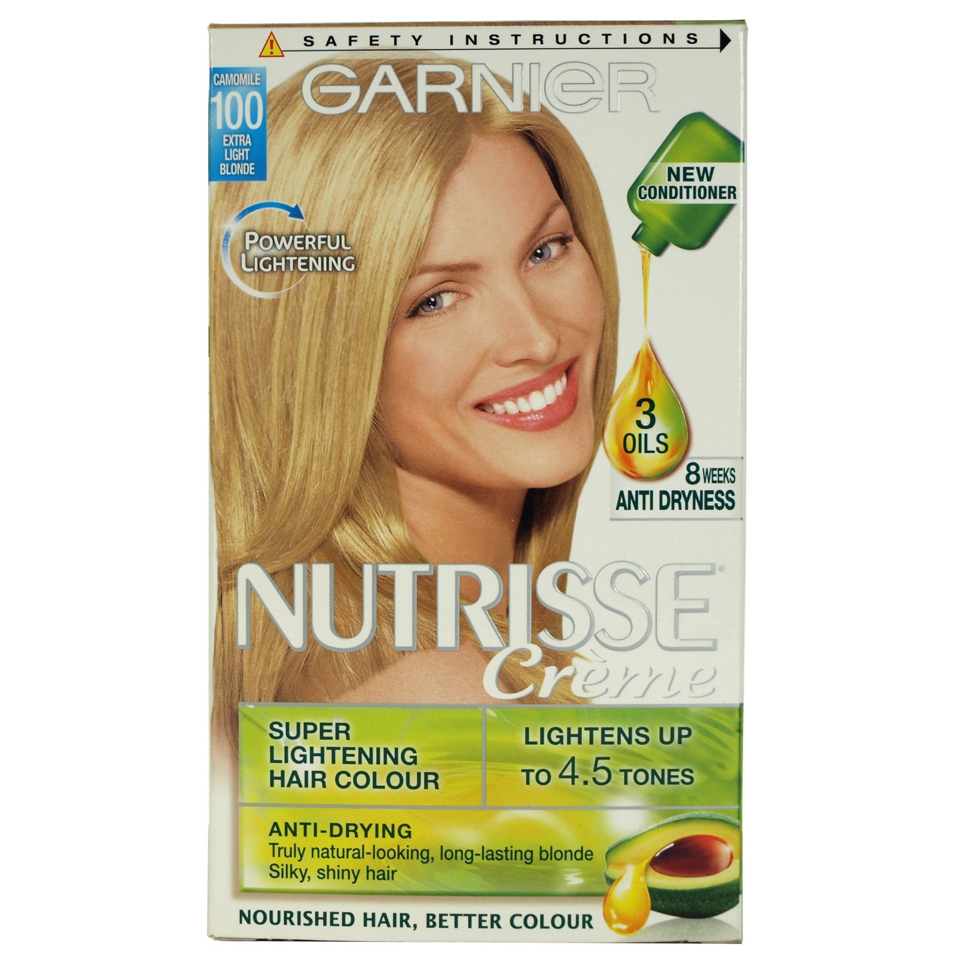 The Best Garnier Nutrisse Creme 100 Chamomile Extra Light Blonde Ebay Pictures