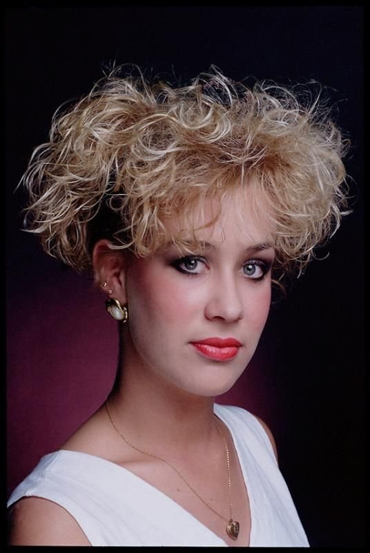 The Best 80S Hairstyles Curly Blonde Bakuland Women Man Pictures