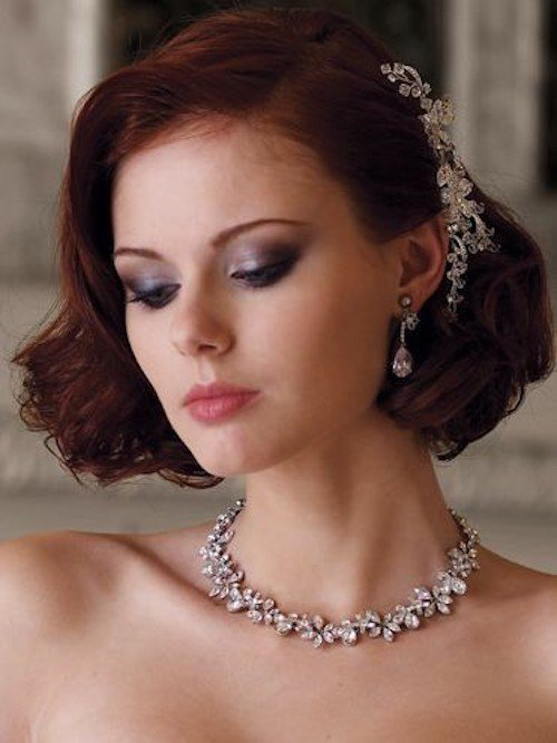 The Best 8 Gorgeous Wedding Hairstyles For Brides With Short Hair Pictures