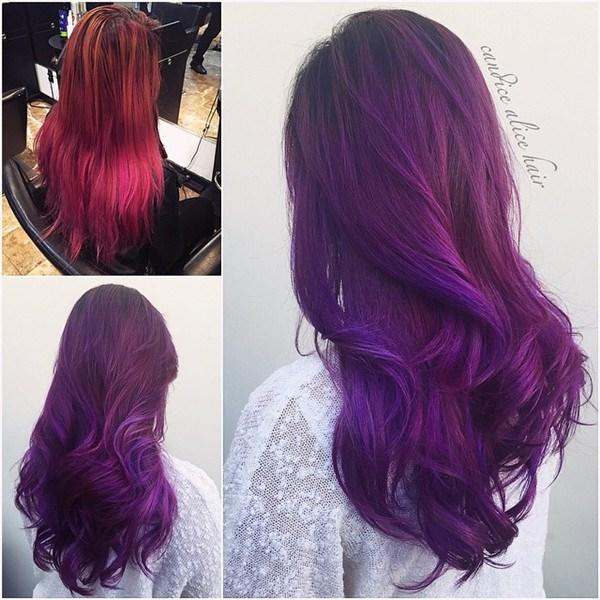 The Best 20 Hot Hair Color Styles The Latest Hair Dye Choice From Pictures