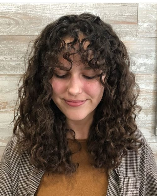 The Best 28 Gorgeous Medium Length Curly Hairstyles For Women In 2018 Pictures