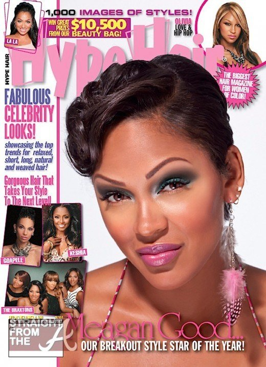 """The Best Cover Shots Meagan Good Is Hype Hair's """"Breakout Star Of Pictures"""