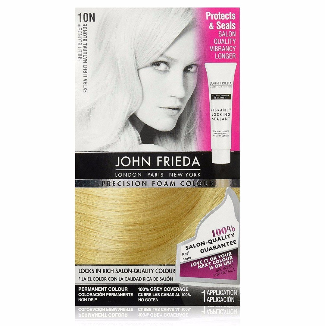 The Best John Frieda Precision Foam Hair Color Extra Light Natural Pictures