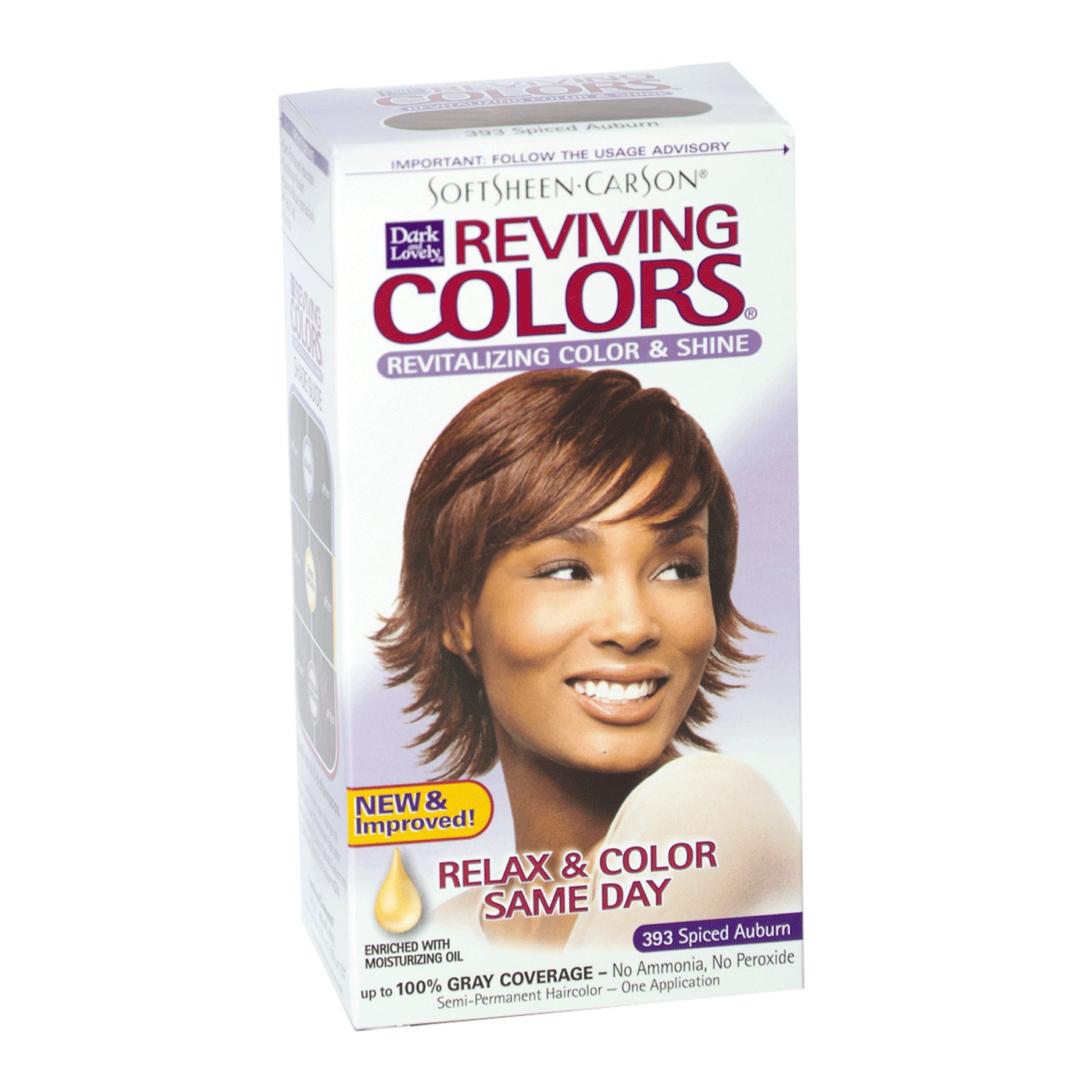 The Best Dark And Lovely Reviving Semi Permanent Hair Color Spice Pictures