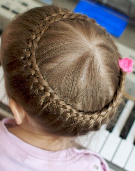 The Best Wedding Hairstyles For Little Girls Elle Hairstyles Pictures