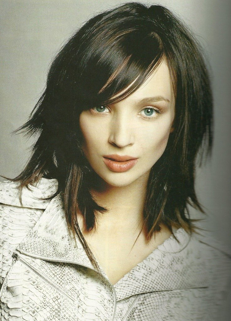 The Best Most Popular Choppy Medium Length Hairstyles Ideas Elle Pictures