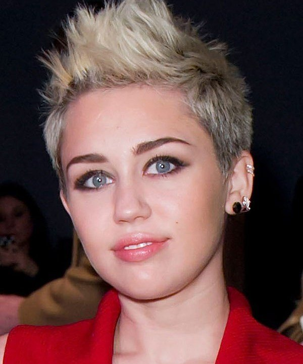 The Best Celebrity Hairstyles Miley Cyrus New Haircut 2013 Miley Pictures