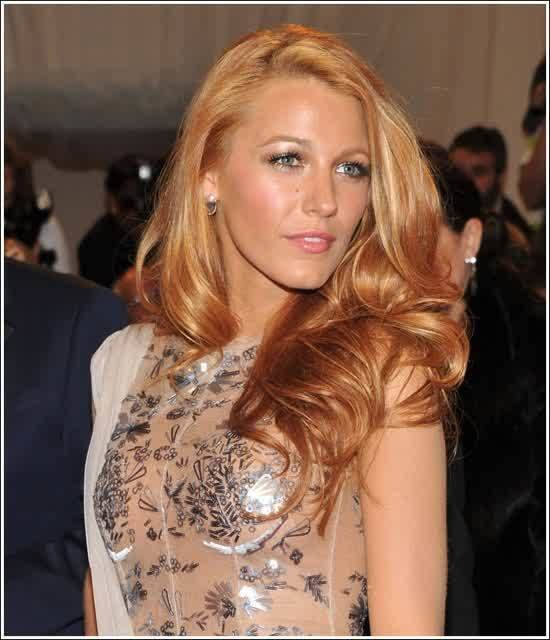 The Best Celebrity Hairstyles Blake Lively Waved Hair Pictures