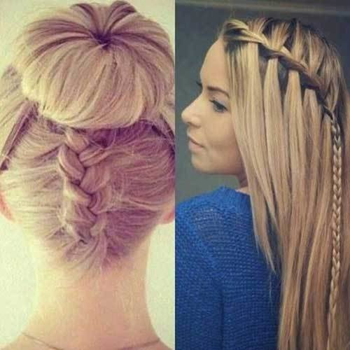 The Best Several Easy And Quick Hairstyles For Long Hair Pictures