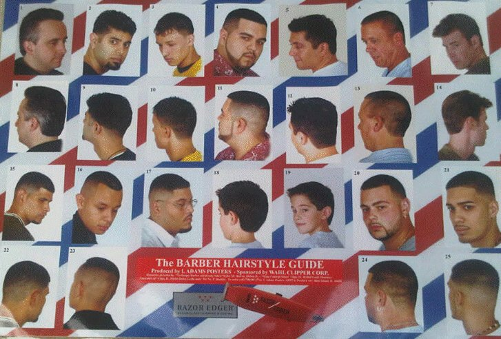 The Best Barber Shop Poster Barber Poster Haircut Poster Ebay Pictures
