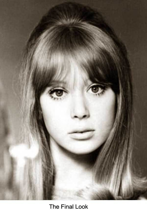 The Best 1960S Long Hairstyle Tips – By Sixties Model Pattie Boyd Pictures