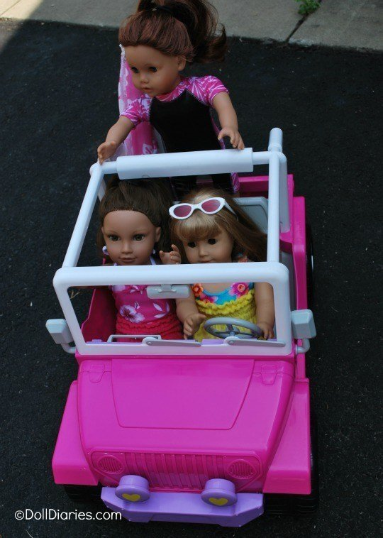 The Best Sophia's 4×4 Cruiser For 18″ Dolls Review Doll Diaries Pictures