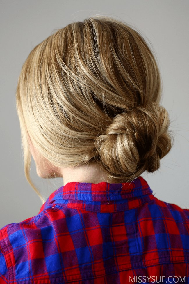 The Best Quick And Easy Braided Bun Pictures
