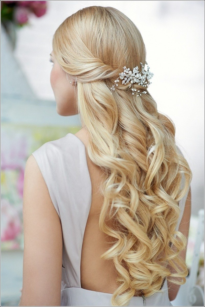 The Best 2015 Prom Hairstyles – Half Up Half Down Prom Hairstyles Pictures