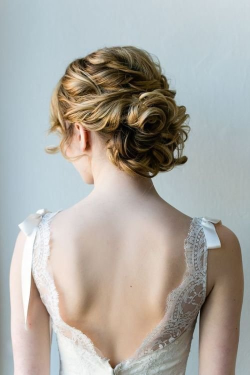 The Best 15 Sweet And Cute Wedding Hairstyles For Medium Hair Pictures