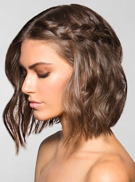 The Best Le Fashion 20 Inspiring Braid Ideas For Short Hair Pictures