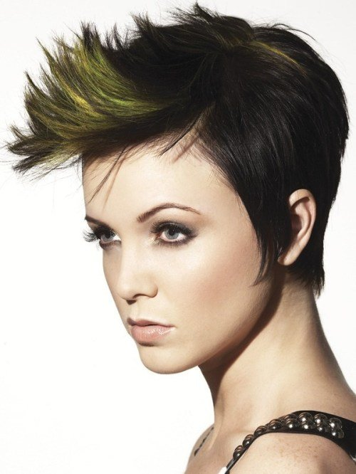 The Best 35 Short Punk Hairstyles To Rock Your Fantasy Pictures