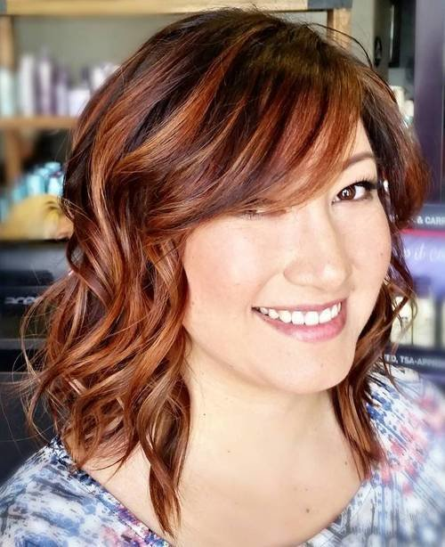 The Best 40 Refreshing Variations Of Bangs For Round Faces Pictures