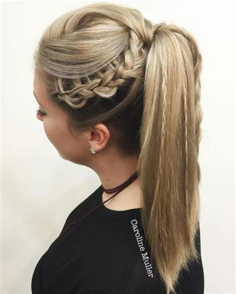 The Best Braided Ponytail Hairstyles 40 Cute Ponytails With Braids Pictures